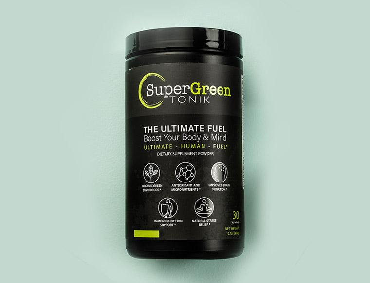 SuperGreen TONIK Premium Vegan Greens Powder