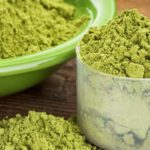 Greens powder scoop