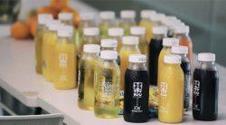 Bottled juice drinks