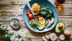 Bowl of healthy fresh food