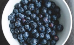 Bowl of antioxidant berries