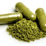 Super green capsules or powders