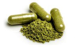 Super green capsules or powders