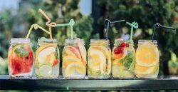Fresh juiced drinks