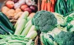 Veggies in the market
