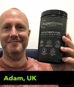 Adam from the UK testimonial