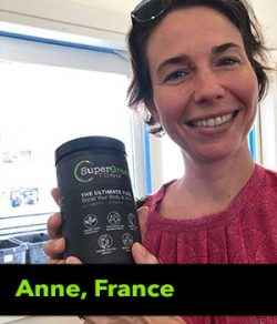 Anne from France testimonial