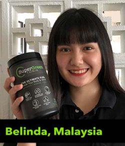 Belinda from Malaysia testimonial