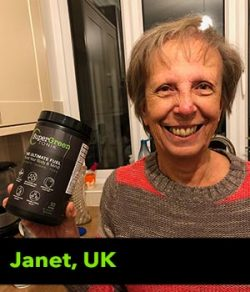 Janet from the UK testimonial