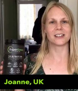 Joanne from the UK testimonial