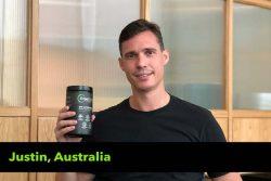 Justin from Australia testimonial