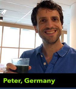 Peter from Germany testimonial