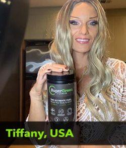 Tiffany from the USA