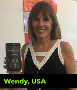 Wendy from the USA testimonial