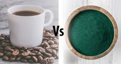 Coffee vs super greens powders