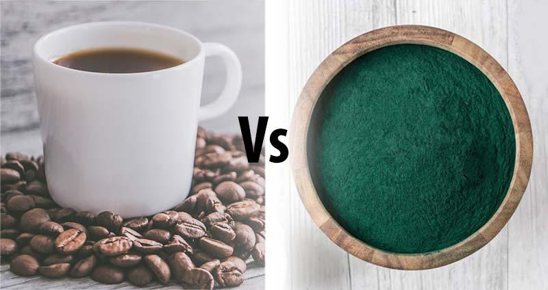 Coffee vs super greens powders