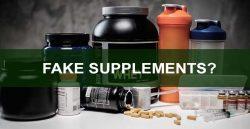 Fake supplements