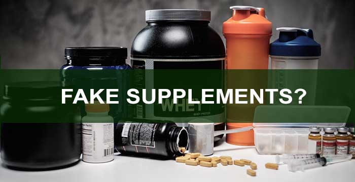 Fake supplements