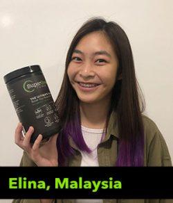 Elina from Malaysia