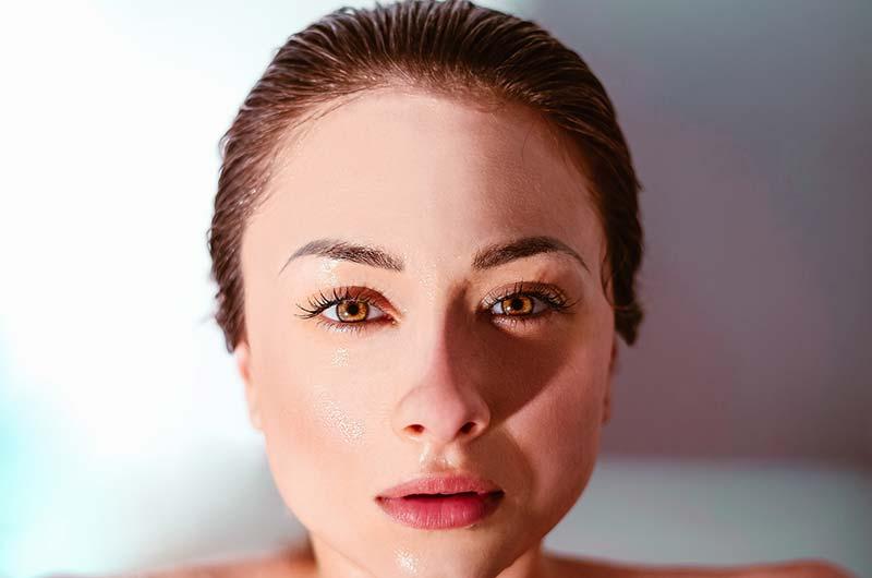 Great skin on woman