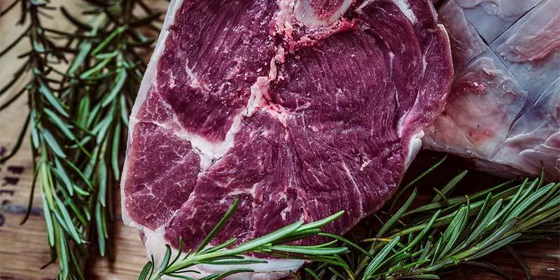 Juicy steak dinner