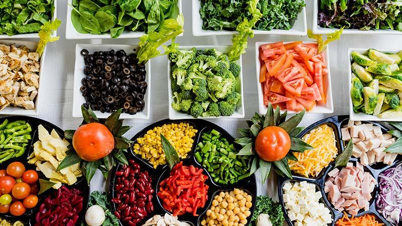 Gourmet salad deli