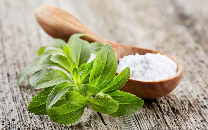 natural sweeteners stevia leaf