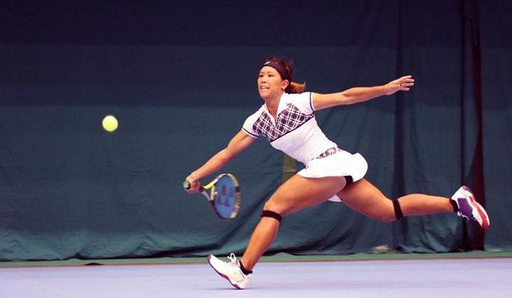 Shiho Akita Japanese tennis athlete