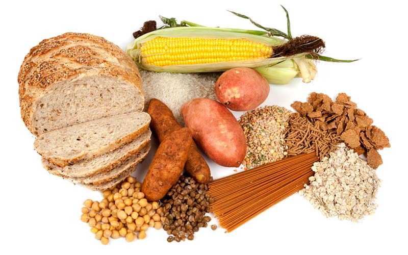 Complex carbs and types of fiber