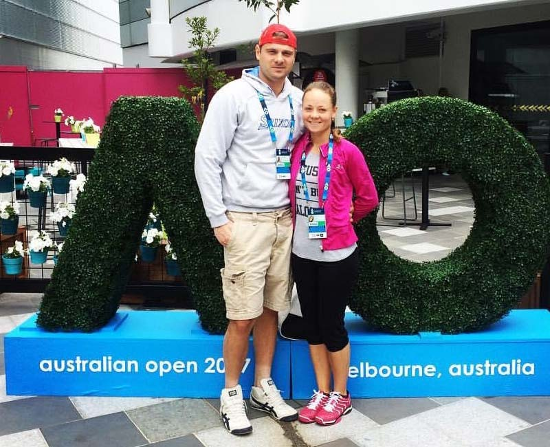 Max and Ksenia Australian Tennis Open 2017