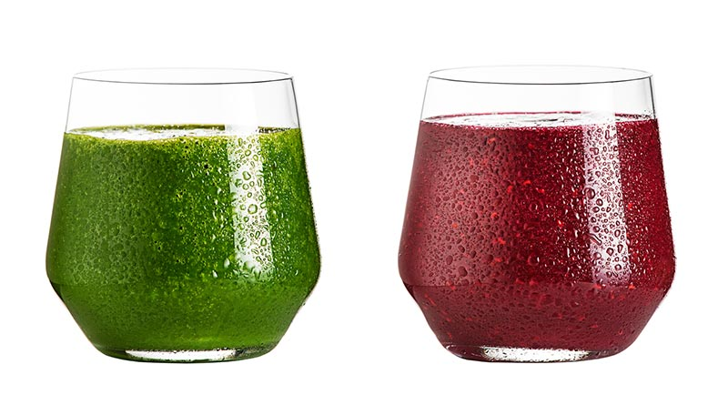 Green or Red Superfood powders